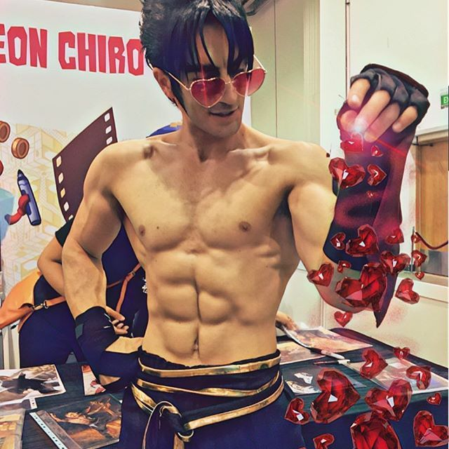 JIN is your heart bae! ❤️  And this is all BECAUSE OF YOU and your wonderful support / love you give me everyday :) 💪🏼 #Jin #Kazama #JinKazama #Tekken #Tekken7 #NamcoBandai #LeonChiro #Bandai #Namco #Fomento #Cosplay #Art #Motivation #Fitspiration #Classic #PhotoOfThe #Day #Body #Shape #Photo #Warrior #King #IronFist #Tournament #Devil #Within
