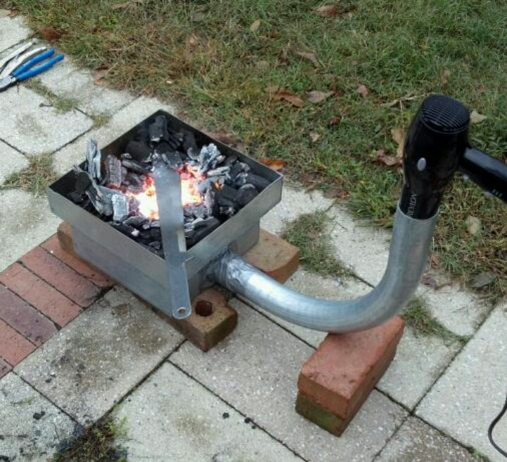 Metal Projects To Build : Best blacksmithing forges images on pinterest