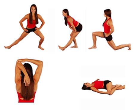 The only pre-workout stretches you should need!- someday i will :)