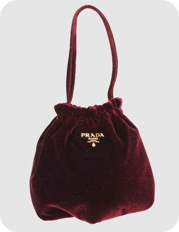 Daylight Robbery: Prada small fabric bag \u0026gt; Women\u0026#39;s | Prada, Velvet ...