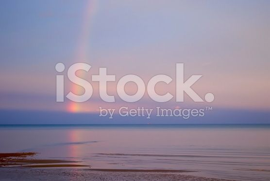 Somewhere over the Rainbow royalty-free stock photo