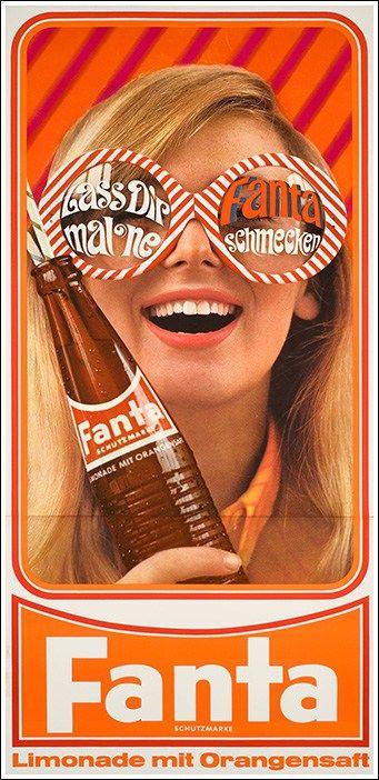 #Fanta poster manifesto #vintage #original www.posterimage.it