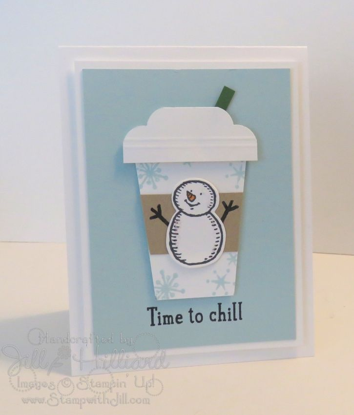 Time to chill! Snow Place coffee cup