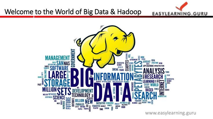 Learn Big data and Hadoop online at Easylearning Guru. We are offer Instructor led online training and Life Time LMS (Learning Management System). Join Our Free Live Demo Classes of  Big Data Hadoop .