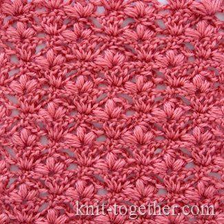 "Crochet Stitch Pattern ""Cherry Blossoms"""