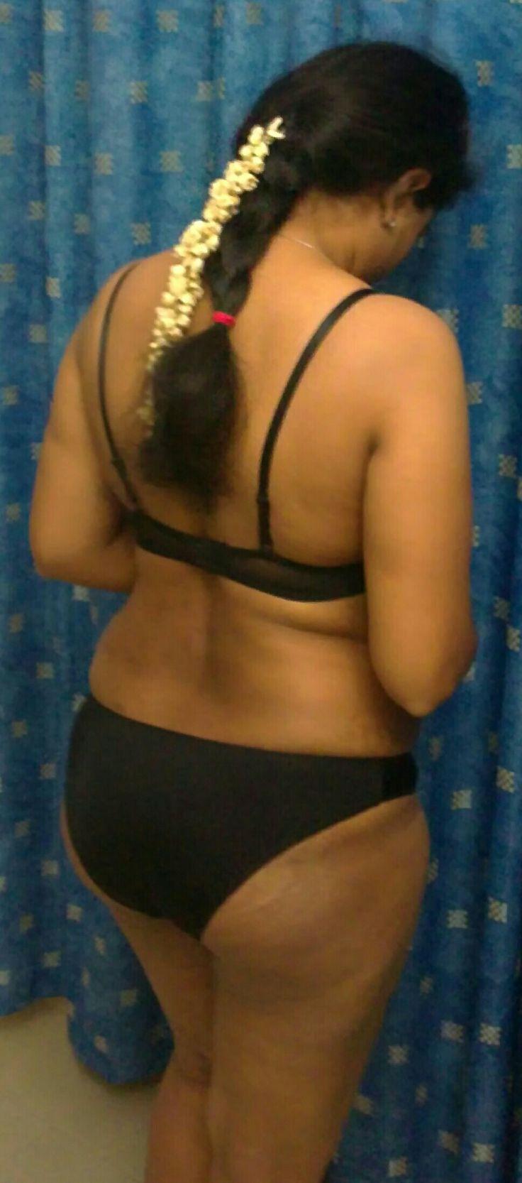 Shiba Bhabhis Sexy Braid  Figure In Bra  Panties  All -3150