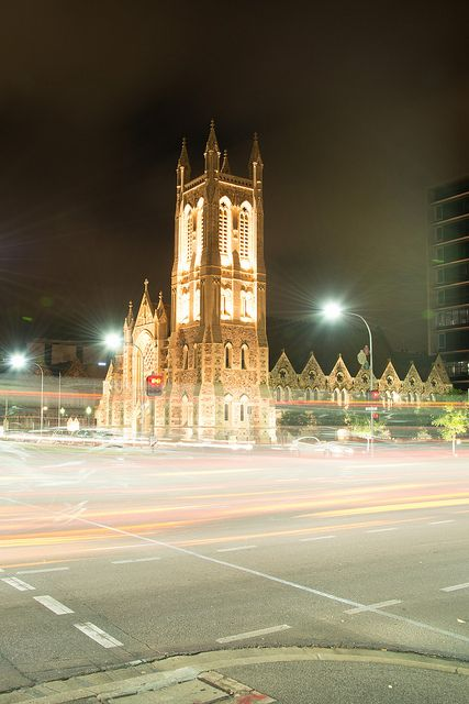 Adelaide -St Francis Xavier Church - 1 by coopertje, via Flickr • Adelaide's churches