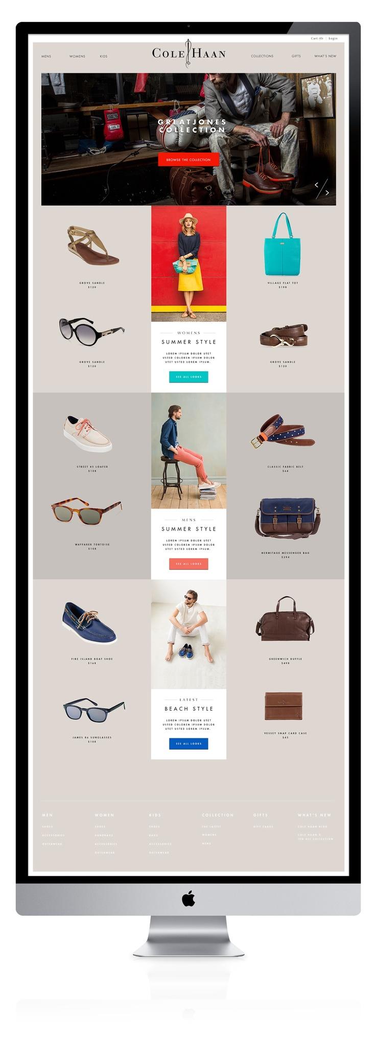 colehaan_home.jpg | #webdesign #it #web #design #layout #userinterface #website #webdesign < repinned by www.BlickeDeeler.de | Take a look at www.WebsiteDesign-Hamburg.de