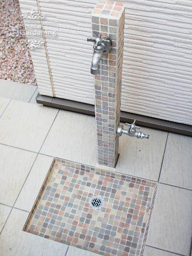 立水栓 ニッコー 立水栓ユニット モゼック