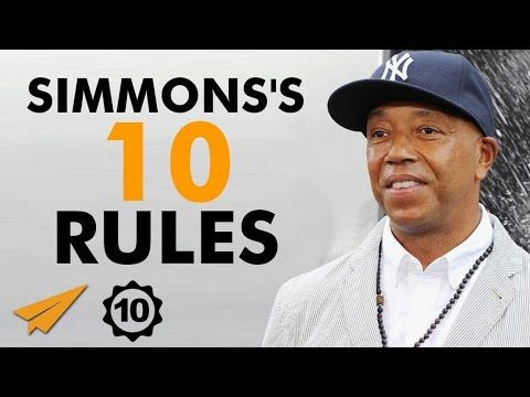 Russell Simmons Documentary - Russell Simmons's Top 10 Rules For Success - YouTube