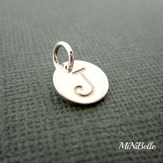 Initial Charm Personalized Initial Charm Sterling by MiNiBelle, $6.00