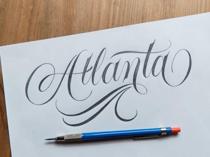 Atlanta Sketch by Ryan Hamrick