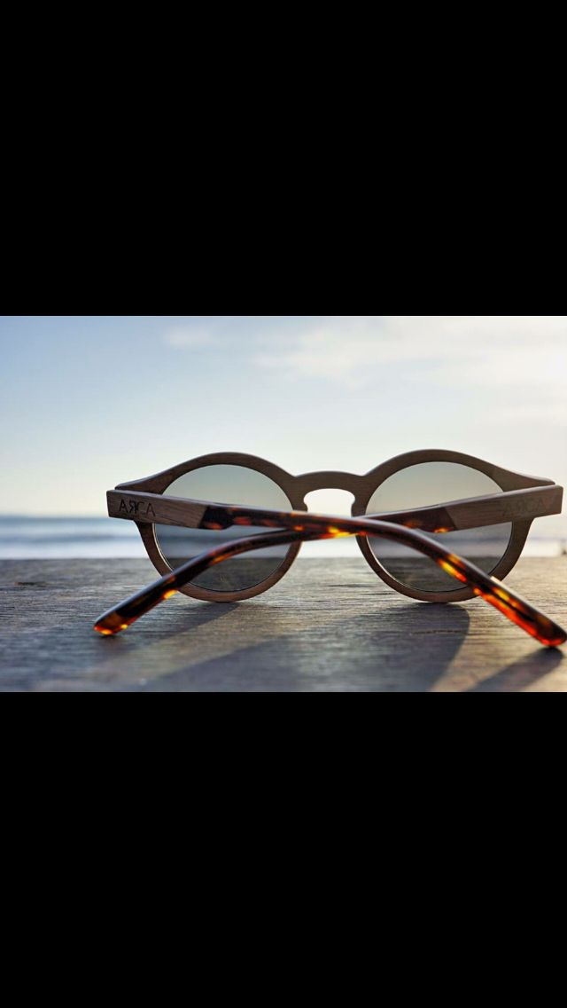 Hand crafted Walnut wood shades by Arca Apparel. Polarised high quality and trendy all mixed with nature.  Wood Sunglasses by ArcaApparel.  @ArcaApparel www.ArcaApparel.com