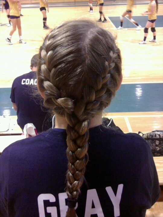 unique cute volleyball hairstyles