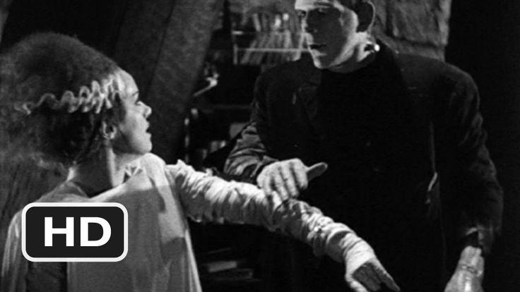 The Monster Meets His Bride - Bride of Frankenstein (10/10) Movie CLIP (...