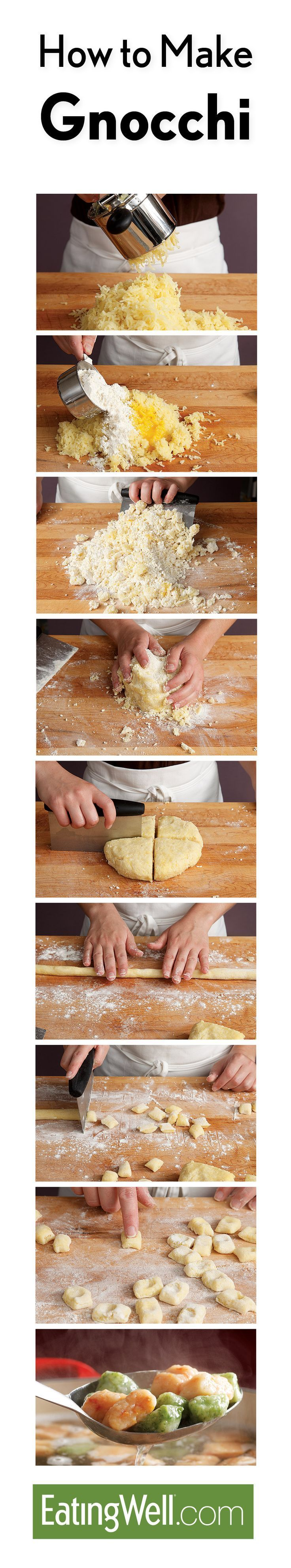 Easy, healthy, homemade gnocchi