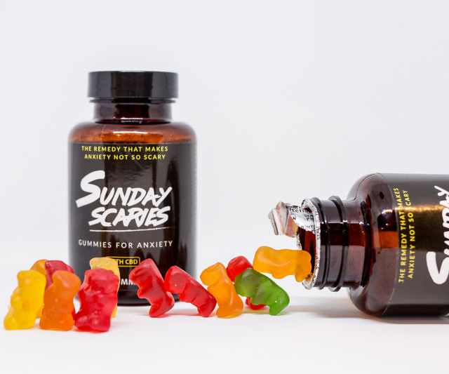 Sunday Scaries CBD Gummy Bears | be more | Sunday scaries, Vitamins