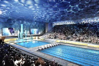Beijing olympic swimming pool places i have for Beijing swimming pool olympics