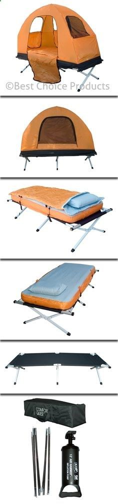 4 N 1 Inflatable Mattress Camping Tent Sleeping Bag Camping Bed New | eBay