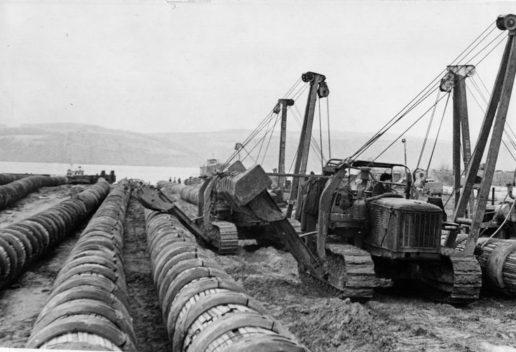Construction of Central Asia – Center gas pipeline