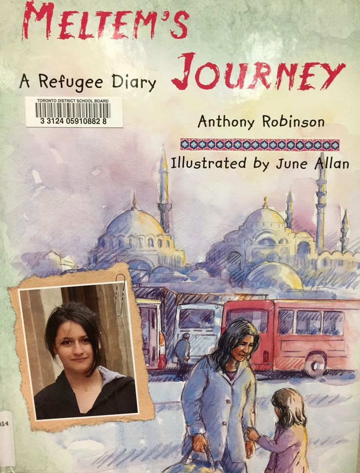Meltem's Journey: A Refugee Diary (305.906914 ROB) by Anthony Robinson, illustrated by June Allan
