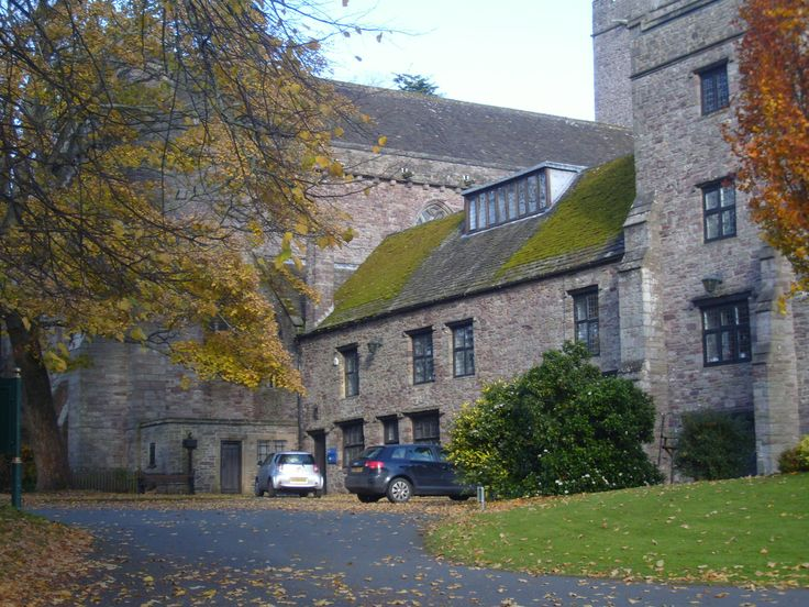 Brecon Cathedral - from behind