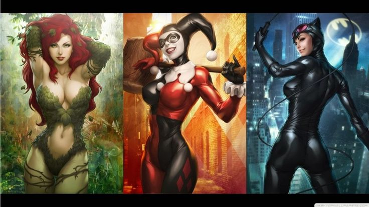 From Harley Quinn to Talia al Ghul. An Infographic Guide to Female DC and Marvel Villains!