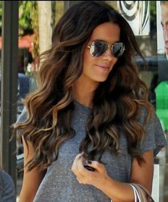 this color is next for me @Jennifer Nelson . I love the soft brown with wisps of blonde