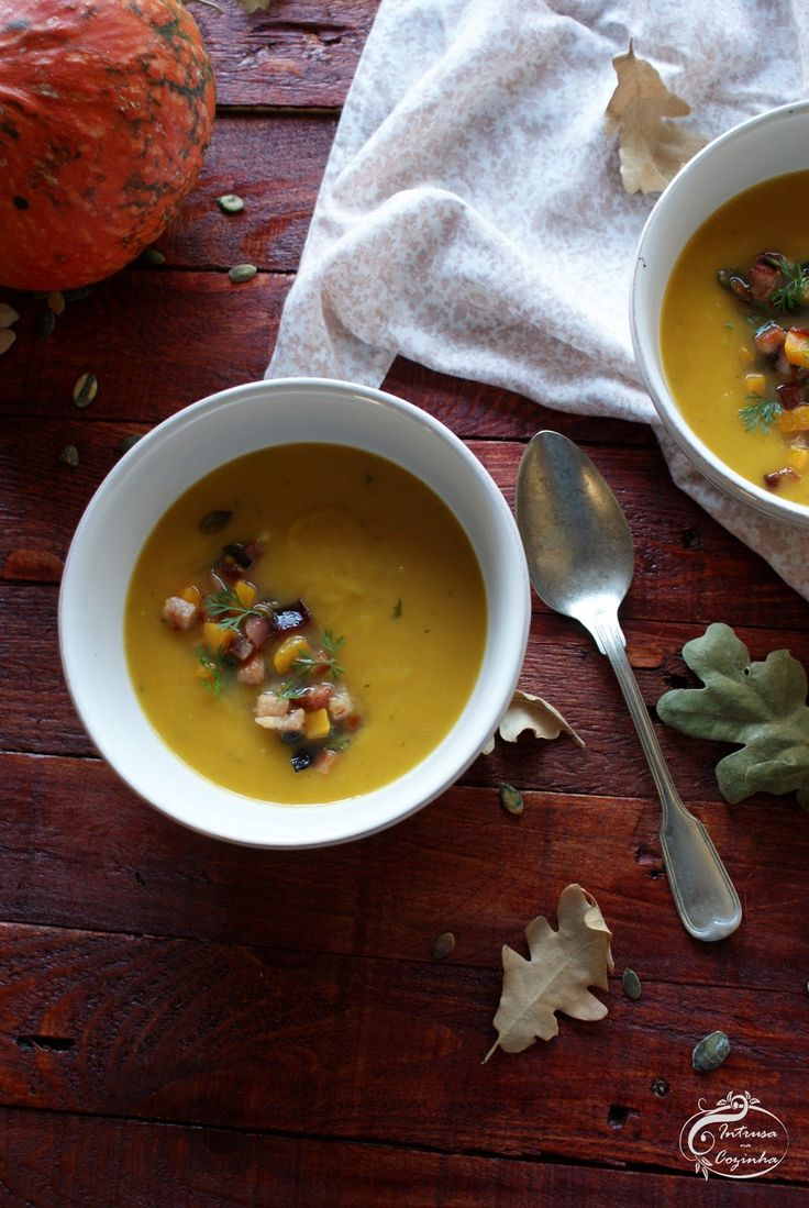 Intrusa na Cozinha: Sopa de Abóbora & Batata-doce {Pumpkin & Sweet Potato Soup}