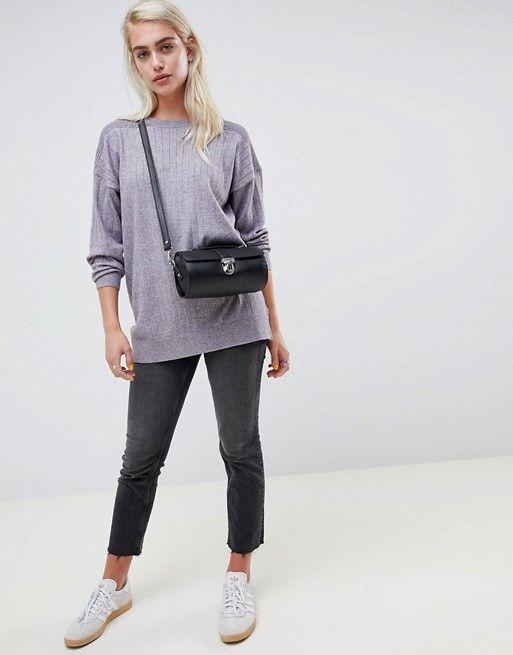 3e0a1ca0b2 DESIGN oversize sweater in fine knit
