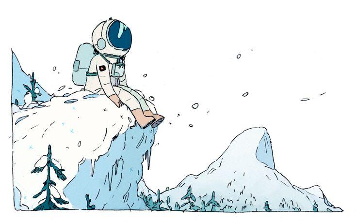bigger astronaut this time