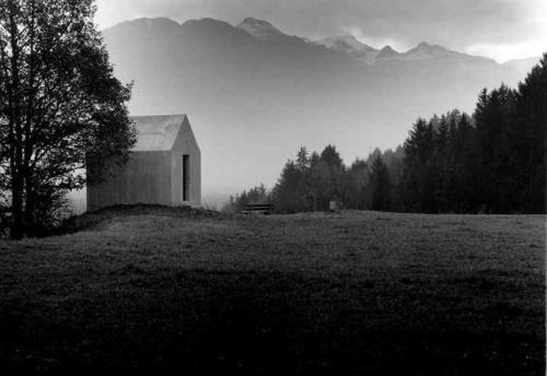 oberrealta chapel. realta, ch. christian kerez