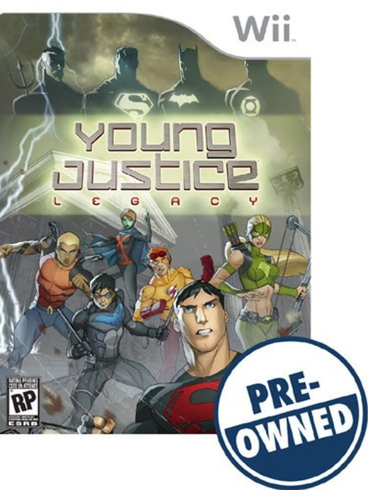 Young Justice: Legacy - PRE-Owned - Nintendo Wii