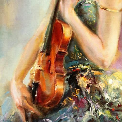 *Resonance* (detail) ~ by Anna Razumovskaya ♥