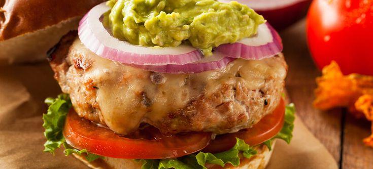 Buffalo Burger with Manchego