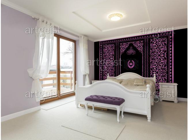 Un toque de Oriente en el interior – un fotomural increíble #fotomurales #fotomural #oriente #oriental #diseño de interiores #decoración de interiores