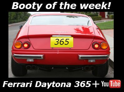 ''Booty of the week' Ferrari Daytona 365/4 classic beauty with a Shmee video explanation and driving experience......http://tinyurl.com/n5a25gt #ferrari #shmee150