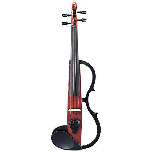 YAMAHA 4/4 SILENT VIOLIN SV130BR - BROWN Violins Electric violins     by Yamaha  jsmartmusic88.com