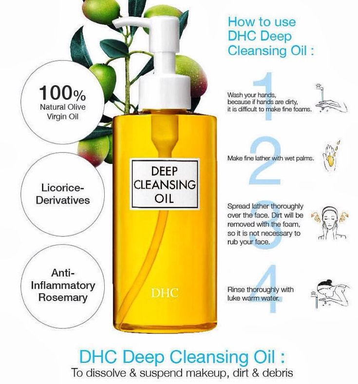 [How To Use DHC Deep Cleansing Oil]