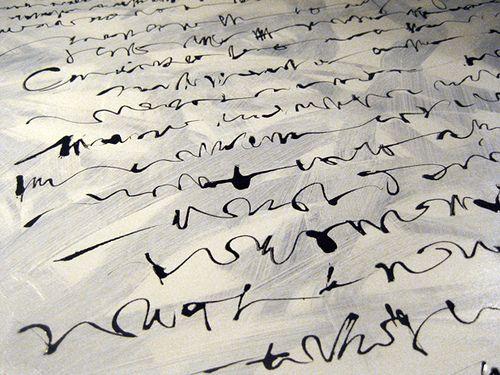 scrittura illeggibile - acrilico su tela, dettaglio asemic writing - acrylic on canvas, detail see more www.youtube.com/biasetton