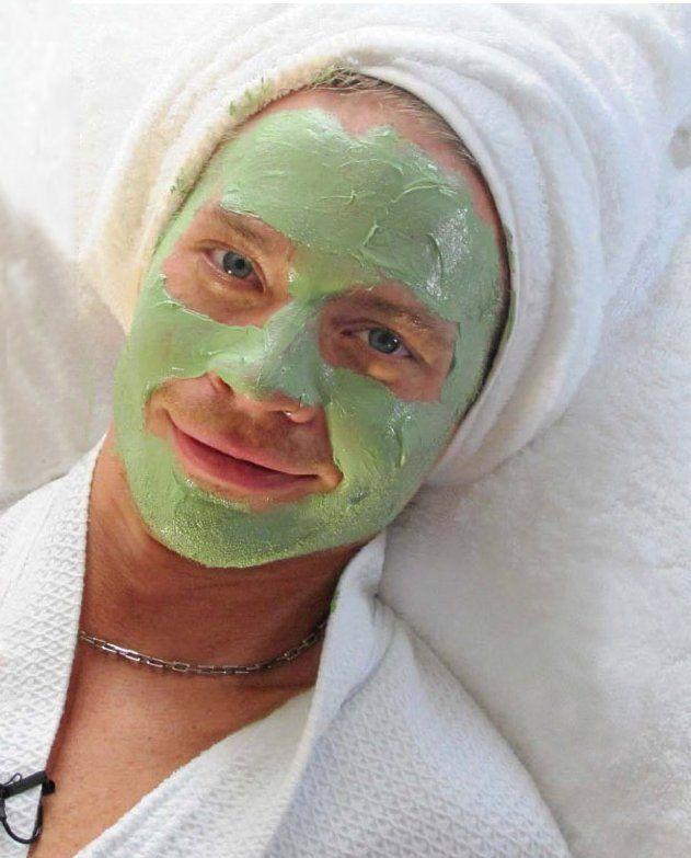 Sauli with a mask Sauli Koskinen