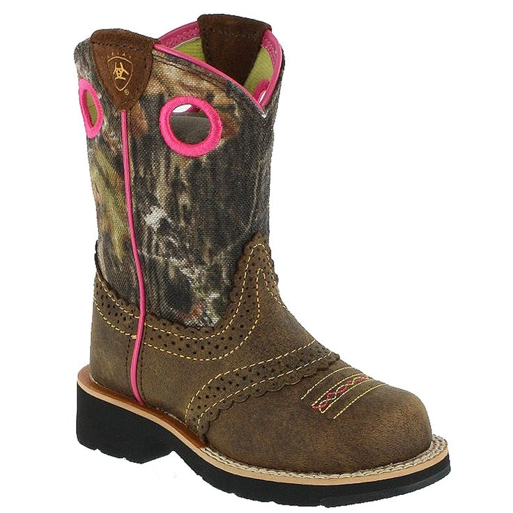 Ariat Fatbaby Cowgirl Kids Western Boots. Totally want these for my birthday!