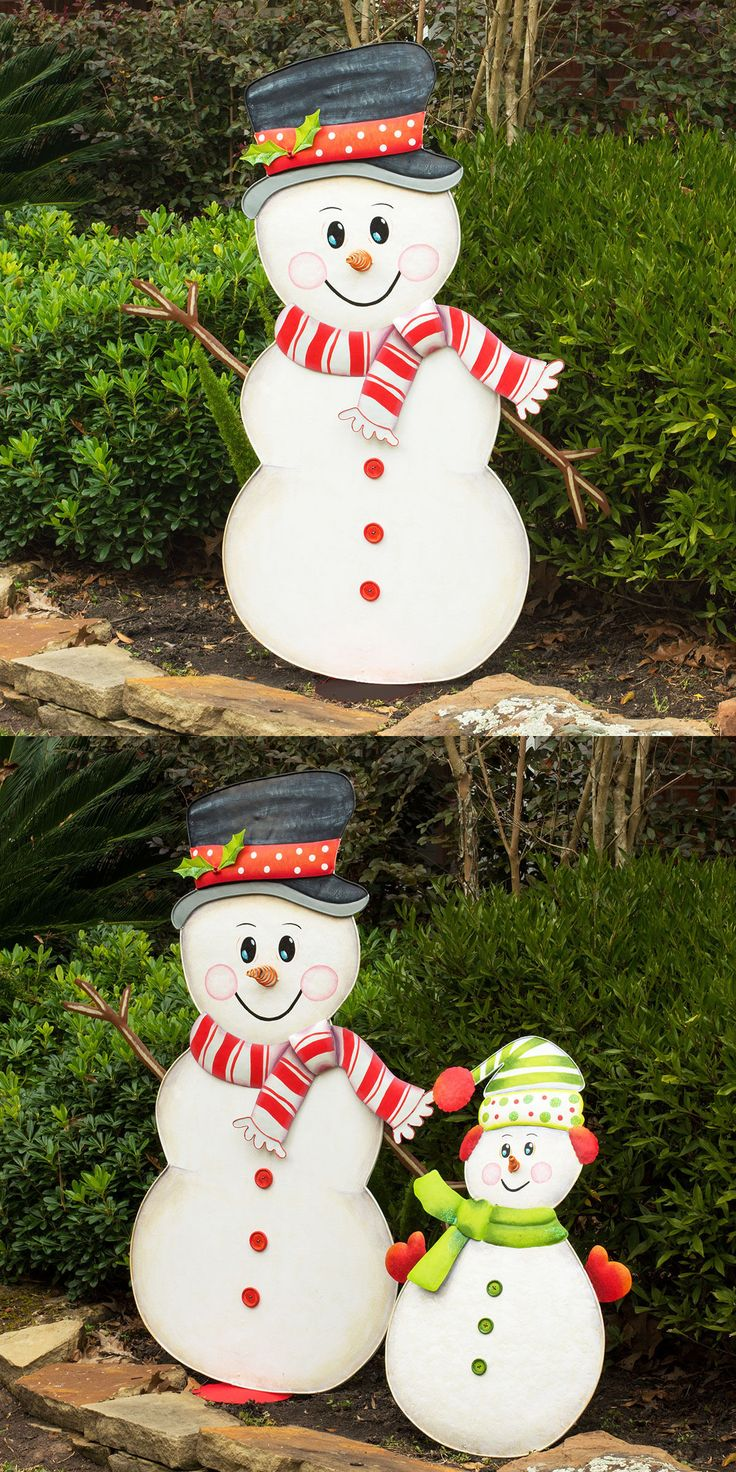 Uncategorized christmas decorations amp holiday decorations - Yard D Cor 156812 Big Holiday Snowman Outdoor Christmas Decoration Buy It Now