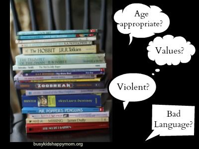 Do you use book review sites to determine whether or not the book is appropriate for your child?