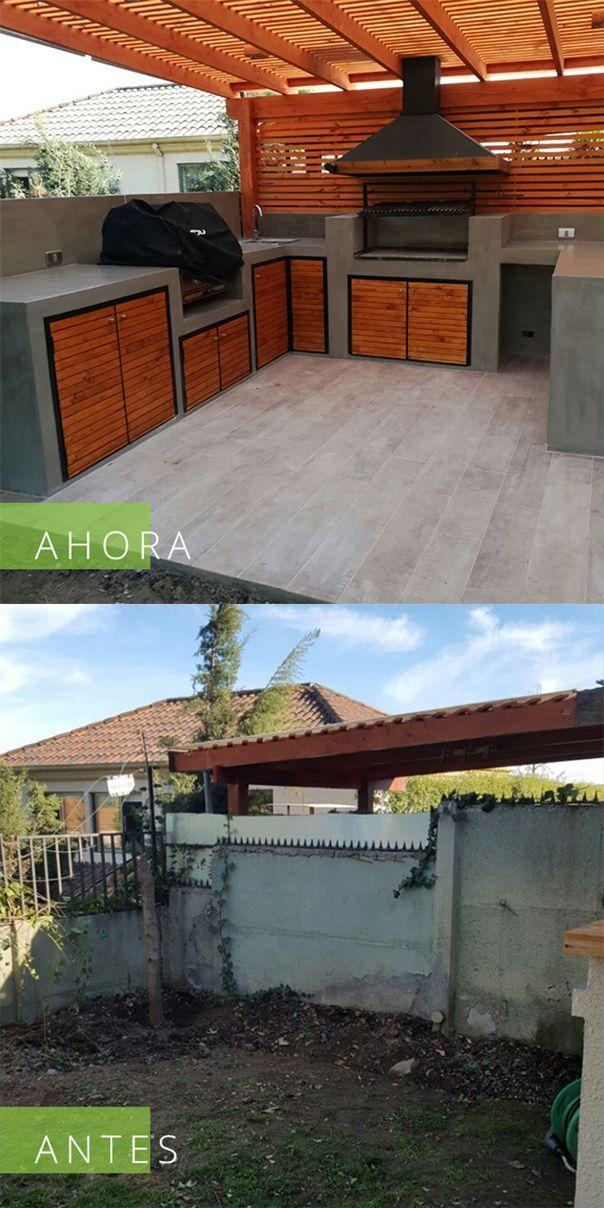 Uno de nuestros últimos trabajos. #ampliate #quinchos #terrazas #asado #parrilla #diseño