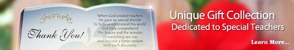 Teacher Gifts & Teacher Appreciation Ideas