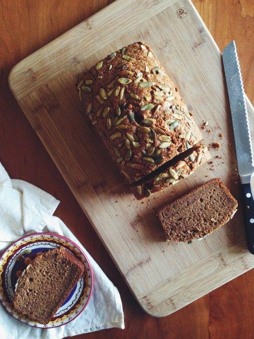 Pumpkin Tea Cake | Delightful Crumb | Quick bread | Pinterest