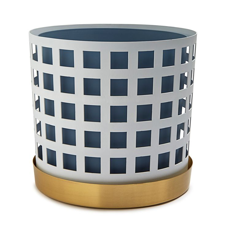 Trio+Pot+Krukke+Stor+Square,+Hvit,+Klong