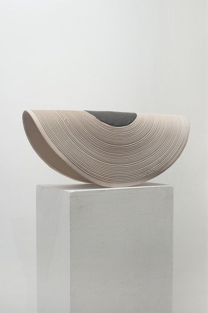Available for sale from Upfor, Ben Buswell, There is No Discovery in Permanence (2013), Ceramic, black engobe, 12 1/2 × 27 × 9 in