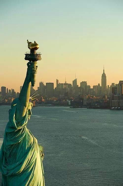 all the beautiful things...  Statue of Liberty